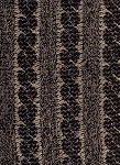 Wool Sweater Storm Black Gray Stripe Upholstery Fabric