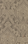 Gray Ivory Victorian Design Upholstery Fabric
