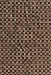 Long Warf Taboulie Maroon Beige Check Upholstery Fabric