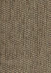 Tan Coral Black Weaved Upholstery Fabric