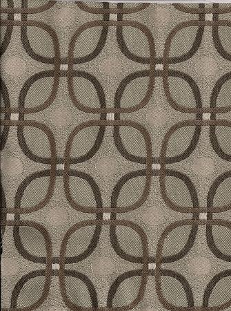 Selia Pebble Brown Gray Ivory Upholstery Fabric