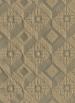 Beige Blue Diamond Pattern Upholstery Fabric