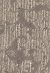 Soprano Sterling Gray Ivory Upholstery Fabric