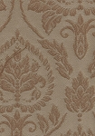 Portland Allover Antique Beige Brown Upholstery Fabric