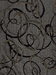 Truly Antique Black Brown Beige Upholstery Fabric