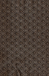 Gillis Saddle Brown Tone Diamond Pattern Upholstery Fabric