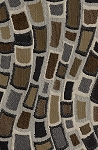Orleans Beaver Multi Color Upholstery Fabric