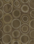 Premonition Taupe Modern Circle Pattern Upholstery Fabric