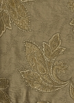 Kashmir Oatmeal Brown Gold Upholstery Fabric