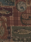 Lodge Wilderness Scene Upholstery Fabric