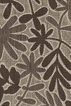 Delray Cocoa Brown Tan Upholstery Fabric