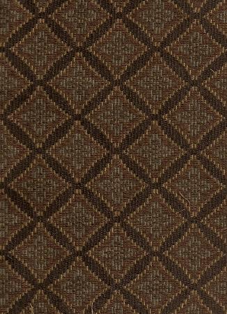 Fowler Brown Teal Diamond Upholstery Fabric