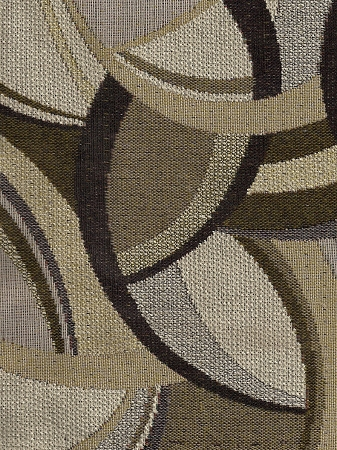 Brown Beige Ivory Modern Upholstery Fabric