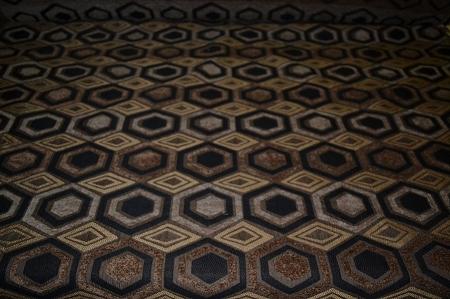 Octavias Brown Black Geometric Design Upholstery Fabric