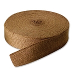 72 yards roll 2 Inch No Stripe Jute Webbing