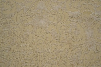 4 yards Fancy Floral Creme & Vanilla Upholstery Fabric