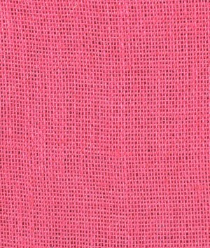 Snap Pink Burlap Fabric