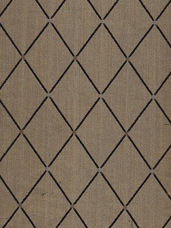 Black Gold Diamond Pattern Upholstery Fabric