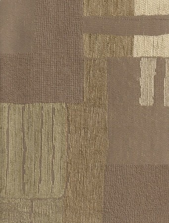 Modern Squares Tan Beige Pattern Upholstery Fabric