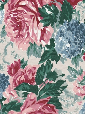 Waverly Cotton Floral Print