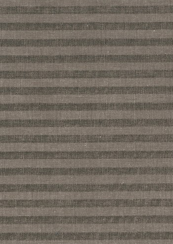 Waverly Wall Street Two Tone Brown Stripe Cotton Print