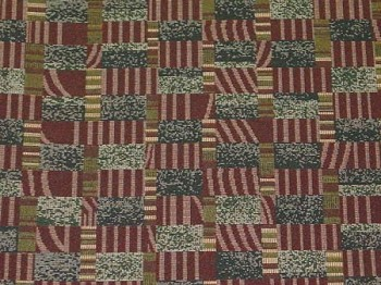 2.6 yards After Hours Relaxing Wine Blue Maroon Green Upholstery fabric