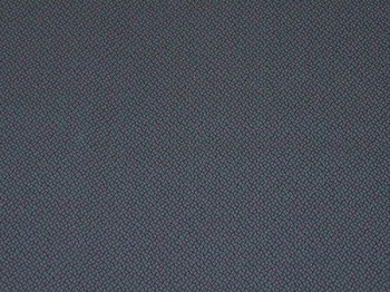 5.1 yards Wobble Blue Black Upholstery Fabric