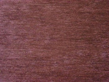 8.4 yds Solid Brown Chenille Upholstery Fabric