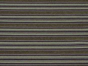 1.7 Yards Harris Eggplant Purple Gold Stripe Upholstery Fabric