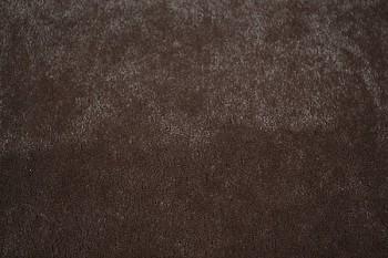 3 7 Yds Montego Chocolate Brown Short Velvet Upholstery Fabric
