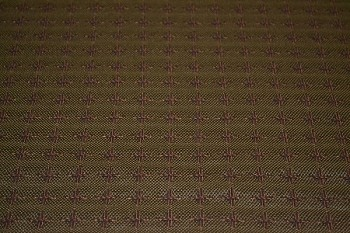 1.4 yds Vitalize Ivy Green Brown Upholstery Fabric