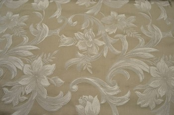 7.1 yards Belmont Taupe Upholstery Fabric