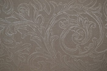 16.2 yards Basic Floral Grey White Upholstery Fabric