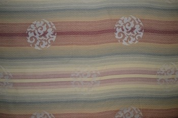 11 yards Melted Rainbow Upholstery Fabric