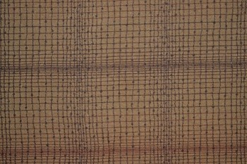 7.8 yards Shadowplay Brown Gold Upholstery Fabric