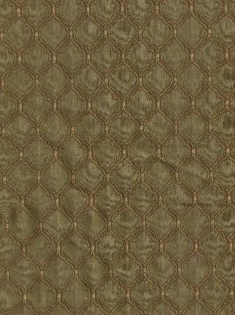 10 yards Louise Victorian Style Pattern Green Brown