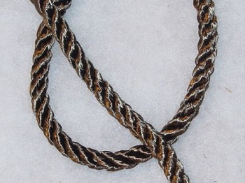1/2 inch Dark Olive Green Cord Trim