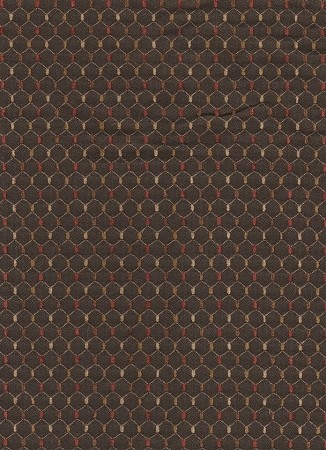 Tote Chocolate Brown Red Upholstery Fabric