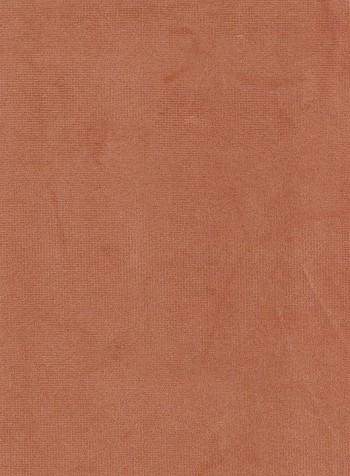 Solid Peach Velvet Upholstery Fabric