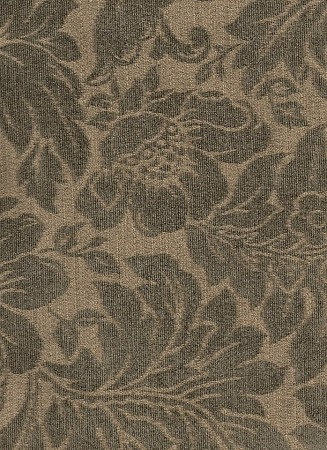 Willow Wheat Green Floral Pattern Upholstery Fabric