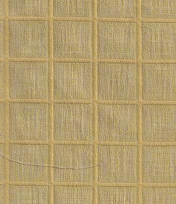 Paulin Away Sunflower Yellow White Upholstery Fabric