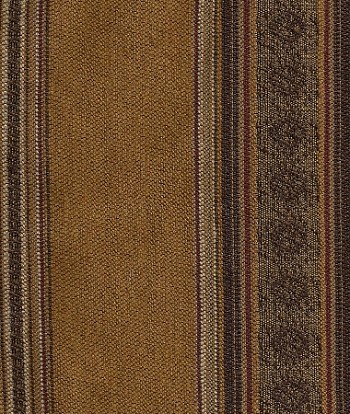 Brown Maroon Copper Western Style Upholstery Fabric