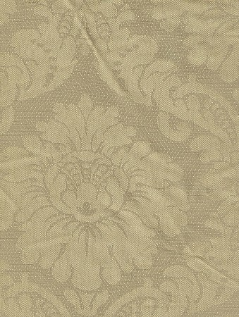 Victorian Style Two Tone Beige Upholstery Fabric