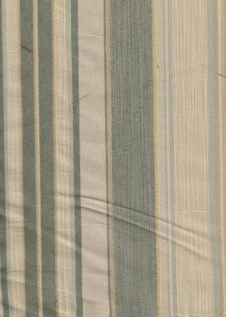 Branywine Aloe Sea Green Ivory Stripe Upholstery Fabric