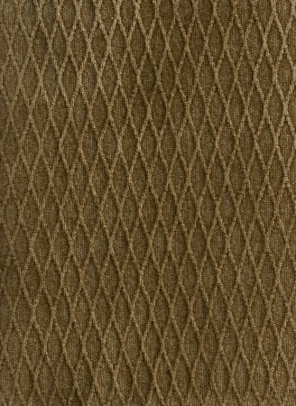 Hazelnut Brown Raised Diamond Pattern Upholstery Fabric