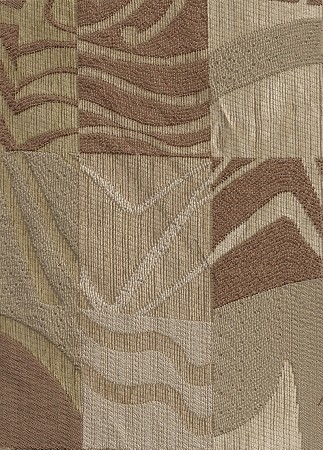 Jury Sand Ivory Brown Tan Modern Upholstery Fabric
