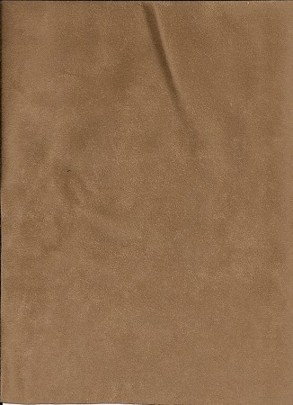 Vista Maple Brown Micro Suede Upholstery Fabric