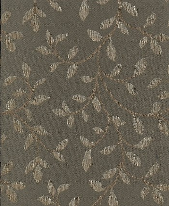 Emberley Patina Mill Creek Blue Gold Vine Pattern Upholstery Fabric