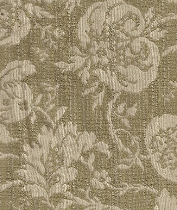 Concerto Willow White Green Floral Upholstery Fabric