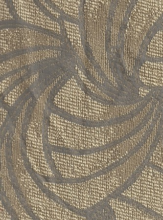 Coppolla Linen Blue Ivory Modern Pattern Upholstery Fabric
